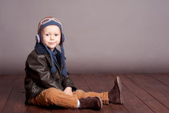 Smiling kid boy Stock Image