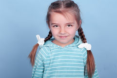 Smiling kid girl Royalty Free Stock Images