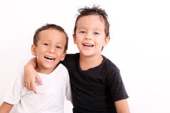 Smiling kids Royalty Free Stock Photos