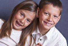 Smiling kids Stock Image