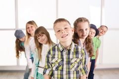 Smiling kids Stock Images