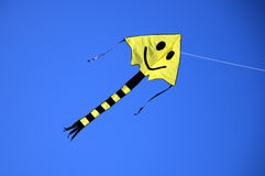Smiling kite Royalty Free Stock Images