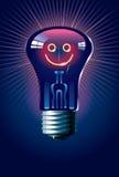 Smiling lamp Royalty Free Stock Photo