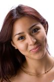 Smiling latin girl Stock Photo