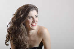 Smiling Latin Girl stock images