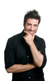 Smiling latin man Stock Photo