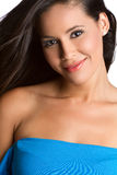 Smiling Latina Woman Royalty Free Stock Photo