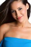 Smiling Latina Woman royalty free stock photo