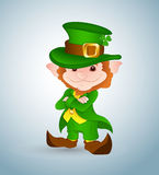 Smiling Leprechaun Stock Photography