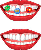 Smiling lip Royalty Free Stock Photo