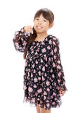Smiling little asian girl Stock Image