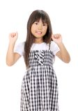 Smiling little asian girl Stock Images