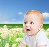 Smiling little baby Royalty Free Stock Photography