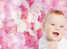 Smiling little baby Stock Photography