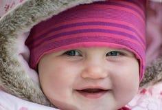 Smiling little baby girl Stock Photo