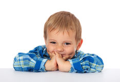 Smiling little boy Royalty Free Stock Images