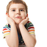 Smiling little boy Stock Photography
