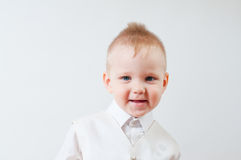 Smiling little boy Royalty Free Stock Photo