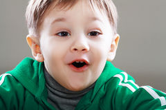 Smiling little boy Stock Photos