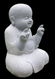 Smiling little buddha Stock Images
