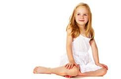 Smiling little girl Stock Photos