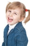 Smiling little girl Stock Photos