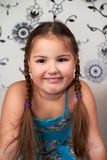 Smiling little girl Stock Image