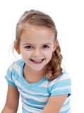 Smiling little girl Stock Photography