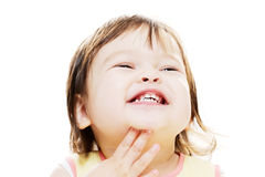 Smiling little girl Royalty Free Stock Image