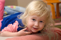Smiling little girl Royalty Free Stock Photos