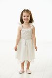 Smiling little girl in ballet costume Stock Photography