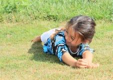 Smiling little girl Stock Photo