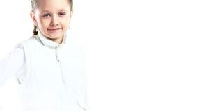 Smiling little girl happy portrait Stock Image