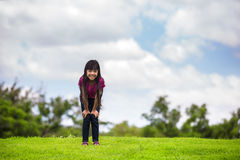 Smiling little girl Royalty Free Stock Photography