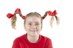 Smiling little girl portrait Stock Photo