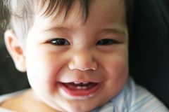 Smiling little guy Stock Photos