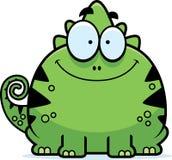 Smiling Little Lizard Stock Image