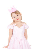 Smiling little princess Stock Images