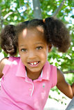 Smiling Little Tree Climber Royalty Free Stock Photos