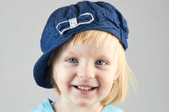 Smiling  llittle girl Royalty Free Stock Images