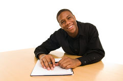 Smiling male Royalty Free Stock Photography