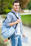 Smiling male student Royalty Free Stock Images