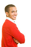 Smiling man royalty free stock image