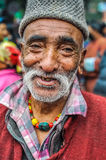 Smiling man in Bihar Royalty Free Stock Photography
