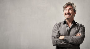Smiling man. Royalty Free Stock Photography