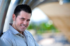 Smiling man portrait Royalty Free Stock Photo