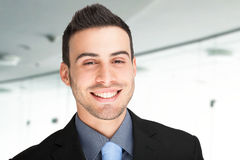 Smiling man portrait Royalty Free Stock Images