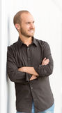 Smiling man portrait Royalty Free Stock Photography