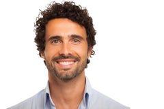 Smiling man portrait Royalty Free Stock Photo