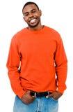 Smiling man posing Royalty Free Stock Image